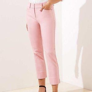 Loft Marisa Rivera pant in pink size 4